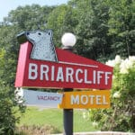 Briarcliff Motel sign