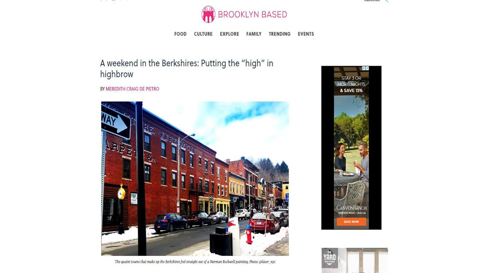 Brooklyn Based article